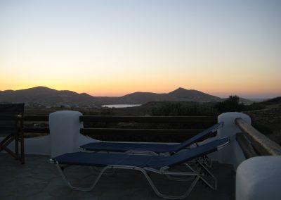 Sunset at Mimihouse, Naoussa, Paros